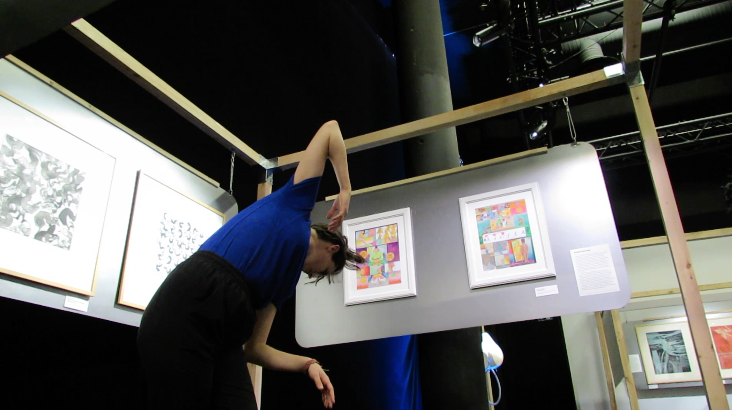 Video dance tutorial workshop with Cléa Hourant